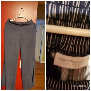 New York and Company wide leg pants